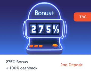 Rich Palms Casino Second Deposit Bonus