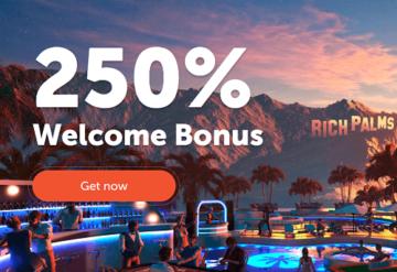 Rich Palms Casino Welcome Bonus