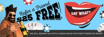 Vegas Crest Refer-a-friend Bonus
