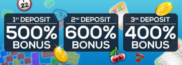 CyberBingo Casino Welcome Bonuses