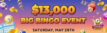 Cyberspins Casino Bingo Tournament