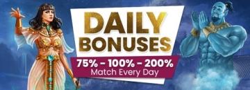 Cyberspins Casino Daily Bonuses