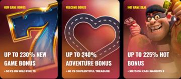 Highway Casino Bonuses