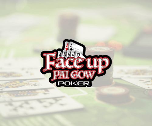 Online Face Up Pai Gow Poker