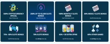 Spinfinity Casino Bonuses