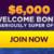 Super Slots Casino Welcome Bonus