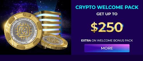 Andromeda Casino Crypto Bonus