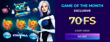 Andromeda Casino Monthly Promotion
