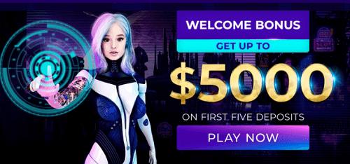 Andromeda Casino Welcome Bonus