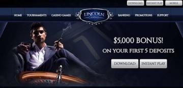 Lincoln Casino Welcome Bonuses
