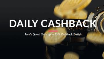Jackspay Casino Daily Bonus